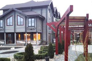 Проекты небольших деревянных отелей